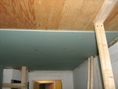 Plywood ceiling, LEED, LEED lumber, Green building materials, salvage, re-use plaster ceiling, plaster ceiling restoration, plaster ceiling repair, plaster ceiling salvage, sound proof ceiling